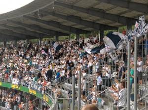 AGF-Fans beim Torjubel